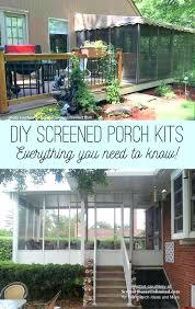 diy screened porch kits do it yourself screen porch kits screened porch kits considerations diy screen
