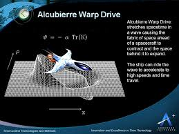 Warp Speed Chart Alcubierre Warp Drive A Doomsday Weapon Or Our Or Passport