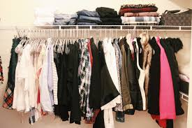 Dresses, shirts, sweaters, jeans...they have to be color organized. If  we're being honest, I really only have black and white clothing, ...