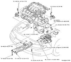 mazda protege engine diagram mazda wiring diagrams online
