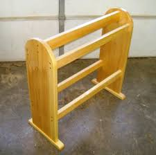 Free Quilt Rack Plans - How To Build Blanket Racks & Step 2, Assemble the Quilt Rack- Select all pieces Adamdwight.com