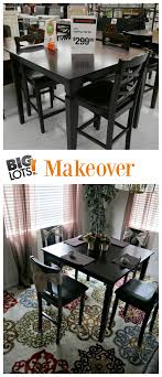 Big Lots Kitchen Table Sets Big Lots Dining Room Makeover Reveal