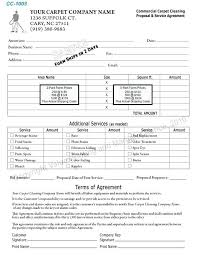 Sample Cleaning Contract Agreement Cleaning Contract Template Sample Easy Snapshot Add House Form