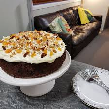 Cafe Style Carrot Cake Recipe The Beauty Foodie