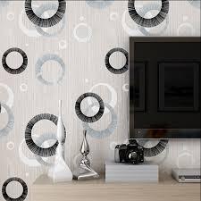 Aliexpress.com : Buy Modern Luxury Circle Design Wallpaper 3D .