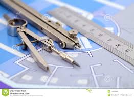 architecture plan tools stock photos image 12803343 architecture plan tools