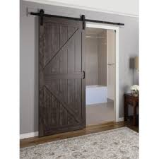 interior sliding barn door. Continental MDF Engineered Wood 1 Panel Interior Barn Door Sliding