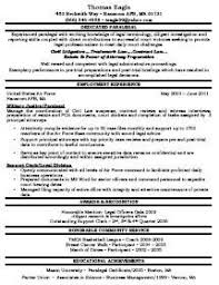 paralegal - Immigration Paralegal Resume Sample