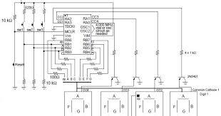 circuit diagram simple digital clock images diagram ingram digital clock using