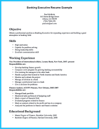 Banking Executive Resume Templates Suppose You Are Confused To Arrange A Bank Manager Resume It Is 16