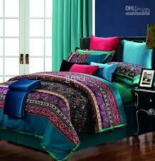 purple king size bedding sets incredible cotton vintage paisley comforter bedding set king queen bedding