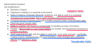 step 5 sprinkle proof that you have these types of skills throughout your resume skill set in resume examples