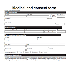 employee medical consent form template. 14 Medical Consent Form Templates Free Samples Examples Format