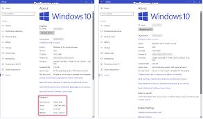 Customize Oem Support Information In Windows 10 Tutorials