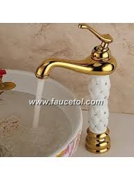 solid brass bathroom faucets. Luxury Contemporary Golden Solid Brass 285 MM Pvd Bathroom Sink Faucet Faucets