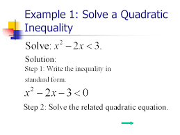 3 example 1 solve a quadratic inequality
