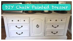 DIY Chalk Painted Dresser