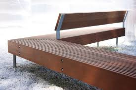 Modern Steel Outdoor Bench With Metal Garden Bench Outdoor Park BenchModern Park Benches