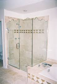 frameless series shower enclosure
