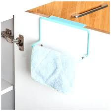 kitchen cabinet towel bar lunexinfo