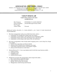 Check spelling or type a new query. Soal Agama Kristen Kelas 4 Sd Kurikulum 2013 Hal