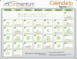 Calendario Septiembre 2015 Moonmentum