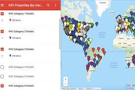 Baltimore 10 Miler Elevation Chart Complete Map Of Ihg Rewards Hotels