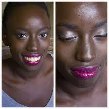 valentines day makeup for dark skinned las