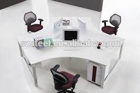 round office desk. commercial office furniture modern workstations partition computer deskhalf round desk