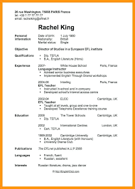 Resume Template Examples Of Teenage Resumes For First Job Best