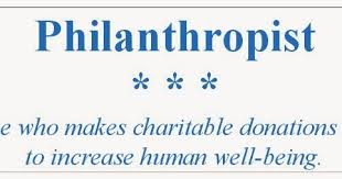 Image result for philanthropist