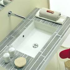 glass undermount bathroom sinks. undermount oval bathroom sink white rectangular with overflow . glass sinks