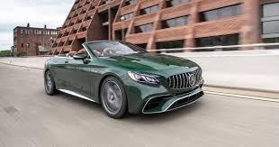 2020 <b>Mercedes</b>-<b>AMG</b> S63 <b>Cabriolet</b> review: Big power, big sky ...