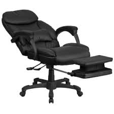 luxury office chair. multifunction black leather high back executive reclining swivel office chair luxury