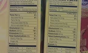 wheat thins nutrition facts label