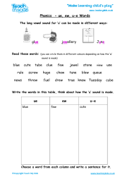 Free interactive exercises to practice online or download as pdf to print. Phonics Ie Y Igh I E Words Teach My Kids