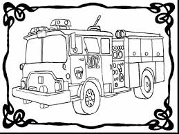 Small Picture surprising fire truck coloring pages with fire coloring page