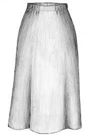 Simple Skirt Pattern With Elastic Waist Custom Decorating Ideas