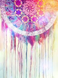 Colorful Dream Catcher Tumblr atistic colourful dream catcher image 100 on Favim 24
