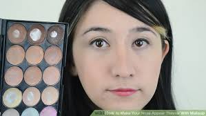 image led make your nose appear thinner with makeup step 11