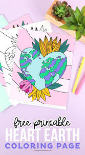 Click the earth and moon coloring pages to view printable version or color it online (compatible with ipad and android tablets). Free Printable Earth Coloring Page Printable Crush