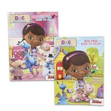1 Piece Of Disney Doc Mcstuffins Coloring Book