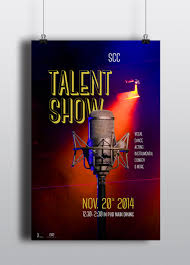 Talent Show Poster Designs Talent Show Graphic Design Apparel Design