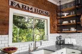 Barn Board Backsplash Country Kitchen HGTV Amazing Wood Stove Backsplash Exterior