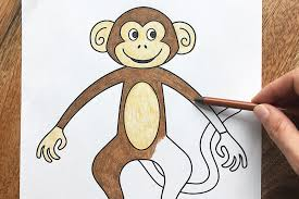 The term is applied descriptively to groups of primates, such as families of new world monkeys and old world monkeys. Monkey Free Printable Templates Coloring Pages Firstpalette Com