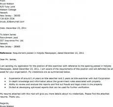 Cover Letter Title Examples Cover Letter Title Examples Resume