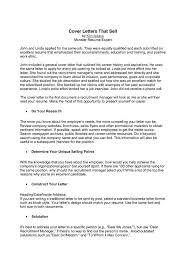 Good Cover Letter Names A Good Cover Letter Template For Software