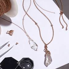 we really just wanted to take the essence of the necklace and translate it into jewelry chu says we re not really after the prop replica