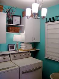 Easy Laundry Room Makeovers Small Laundry Room Makeover