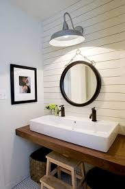 wood bathroom countertop vessel sink